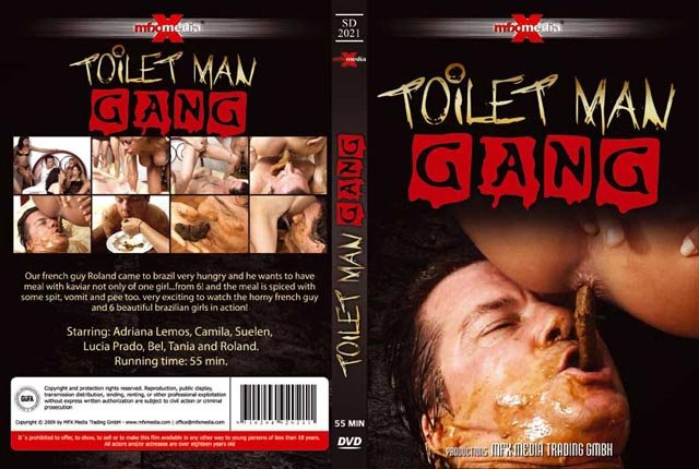 Adriana, Camila, Suelen, Lucia, Bel, Tania and Roland (SD) [SD-2021] - Toilet Man Gang [avi / 578 MB /  2018]