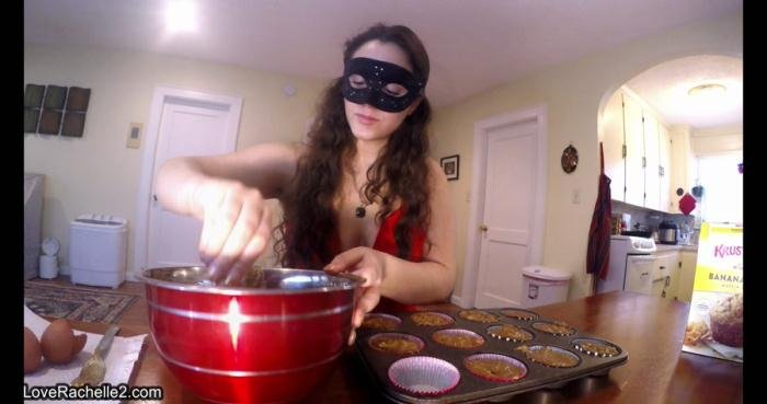 LoveRachelle2 (UltraHD 4K) Slave Deserves A Treat! Baking Poop Muffins [mp4 / 1.37 GB /  2019]
