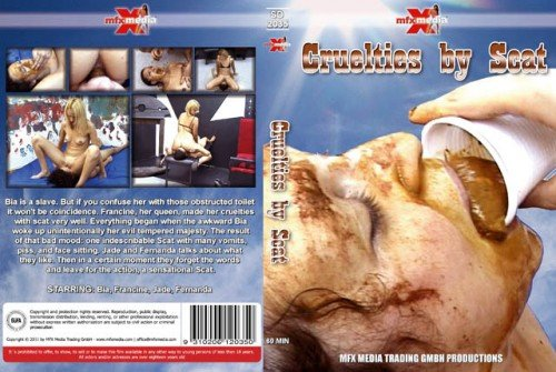 Bia, Francine, Jade, Fernanda (SD) 2035 Cruelties By Scat [mp4 / 425 MB /  2019]