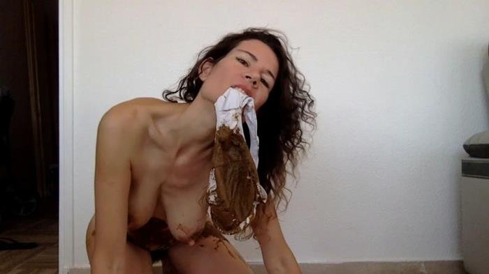 nastymarianne (HD 720p) Pooping in my new white panty [mp4 / 441 MB /  2019]