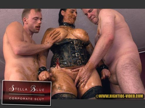 Stella, 3 males (HD 720p) STELLA BLUE, CORPORATE SLUT [mp4 / 594 MB /  2020]